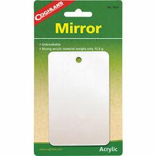 COGHLANS Mirror Campingspiegel Reisespiegel Acrylglas klares Bild leicht