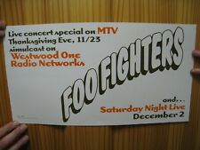 Foo Fighters Poster The Nirvana Snl Live Thanksgiving 1995
