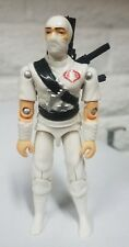 NEW G.I.JOE CUSTOM BLACK MAJOR WHITE STORM SHADOW W/ RARE CHINA LOGO