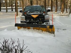 2006 Dodge 2500 truck with 8 ft. Fisher plow