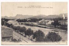 crest , vallée de la drome et les trois becs