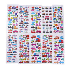 2Pcs Cartoon Bubble Stickers Transport Notebook Sticker Label Decoration HU