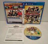 Warriors All Stars - PS4 - Pal français - Complet - Comme neuf (jamais utilisé)