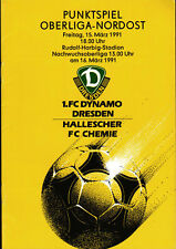 OL 90/91 1. FC Dynamo Dresden - HFC Chemie, 15.03.1991