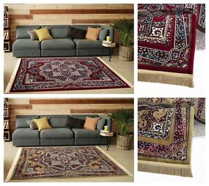 Floral Soft And Thick Luxury Hand Carved Beautiful Rugs For Living Room Bedroom