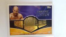 TOPPS WWE 2015 CESARO COMMEMORATIVE CHAMPIONSHIP PLATE CARD