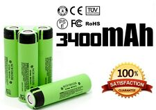 4 x Panasonic NCR18650B ORIGINALE 18650 Li-ion 3400mAh 3.7V UK BATTERIA VAPE