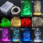 LED String Fairy Lights Wedding Craft Party Garden Coloured Xmas Decoration Fun