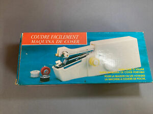 E-z sewing hand held machine battery operated device