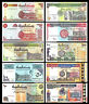 Sudan 10 Pcs Set , 5 - 5000 Dinars , 1992 - 2002 , UNCIRCULATED