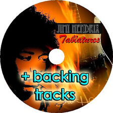 Jimi Hendrix BASS & GUITAR TAB CD Tablature + backing tracks Best of Blues Music