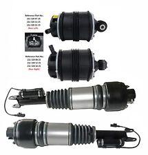 4pcs Kit Front Air Struts&Rear Air Springs Bags For Mercedes W211 E320 E350 E500