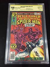 The Spectacular Spider-Man 27 Cgc 9.8 SS 2x Lee Miller 1st Miller Daredevil art
