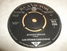 """LOS INDIOS TABAJARAS """" MARIA ELENA / JUNGLE DREAM """" 7"""" SINGLE 1963 VG+"""