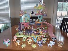 Littlest Pet Shop Whirl Around Playground Playset Dachshund & 50 PETS!!!!