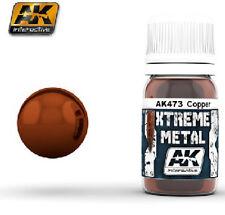 AK Interactive AKI-473 Xtreme Metal Copper Metallic Paint 30ml Bottle