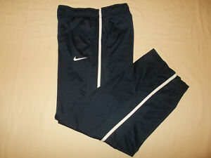 NIKE DRI-FIT DARK NAVY BLUE ATHLETIC PANTS BOYS XL EXCELLENT CONDITION