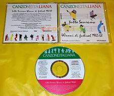 Canzone Italiana TUTTO SANREMO 40 ANNI DI FESTIVAL 1965-68 Various Artists 1990