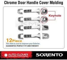 Chrome Door Handle Cover Garnish Molding Trim A269 For KIA 2003 - 2009 Sorento