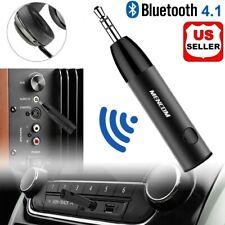 3.5mm AUX Audio Wireless Bluetooth V4.1 Receiver w/ Mic Mini Home Car Speaker xs