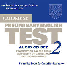 Cambridge Preliminary English Test 2 Audio CD Set (2 CDs): Examination Papers fr