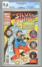 Silver Surfer Annual #6 CGC 9.6 White Pages (1993) 2100424015 1st Legacy Genis-V
