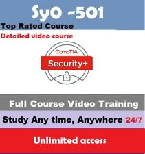 CompTIA Security+ sy0-501  FULL video course