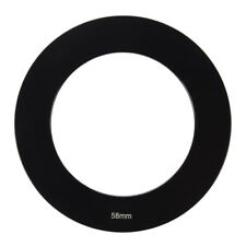 Filter Holder 58mm Lens Black Metal Adapter Ring For CokIn P Series Q6Z4