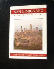 SAN GIMIGNANO POST CARD BOOKLET CITTA DELLE BELLE TORRI CITY OF TOWERS