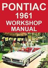 PONTIAC 1961 WORKSHOP MANUAL
