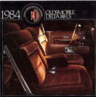 1984 OLDSMOBILE DELTA 88 LS Brochure / Flyer / Catalog- Diesel, Gasoline