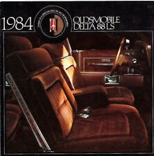 1984 OLDSMOBILE DELTA 88 LS Brochure / Flyer / Catalog- Diesel, Gasoline