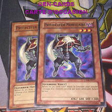 OCCASION Carte Yu Gi Oh PROTECTEUR MORTUAIRE CP08-FR011 x 2