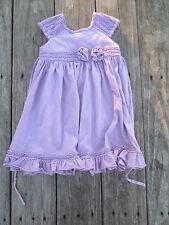 Isobella & Chloe ~ Nordstrom ~ Girls Lavender Dress ~ Size 4