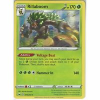 014/202 Rillaboom | Rare Holo Card | Pokemon TCG Sword and Shield S&S Base Set