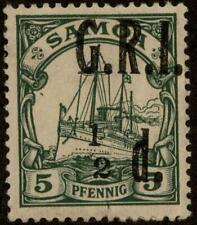 Germany Samoa Mi2 PFIII MH British GRI Occupation 85445