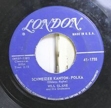 Polka 45 Will Glahe - Schweizer Kanton Polka / Liechtensteiner Polka On London
