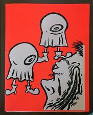 The Cryptic Guide To The Residents RARE Screen Print Mark Mothersbaugh Devo