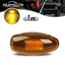For 99-12 CHEVY GMC LED Side Dually Bed Amber Replacement Fender Marker Light
