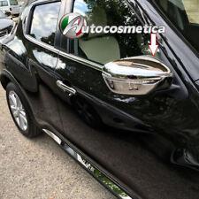 per Nissan Juke 2014>Calotte SPECCHI RETROVISORI abs Cromo specchietti Originali