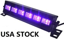 UV LED Black Light Bar Ultraviolet Stage Light Dimmable for Glow Party Halloween