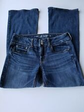 American Eagle outfitters Womens Jeans 6 Artist stretch Short Medium Wash 504