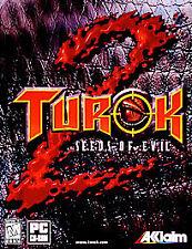 Turok 2: Seeds of Evil - PC, Good Windows Me, Windows 95, pc, Wind Video Games