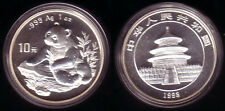 China 10 Yuan Silber Panda 1998