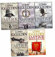 Conn Iggulden Emperor 5 Books Collection Set The Blood Of Gods, The Death Of Kin
