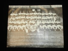 "1972 8.5"" by 11"" New York Yankees Team Issued Photograph"