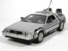 Welly Ritorno al Futuro 1 Delorean TIME MACHINE scala 1/24 modello Pressofuso Auto