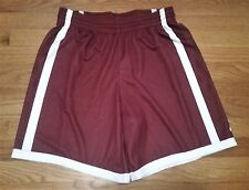 New Nike Women's M Stanford Cardinal Pinnacle Mesh 3.0 Short Red/White MSRP $50