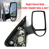 Right Hand Driver Side Complete Door Wing Mirror For Ford Transit MK6 Electric