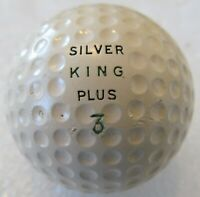 UNUSED ORIGINAL VINTAGE SILVER KING PLUS DIMPLE GOLF BALL CIRCA 1930'S